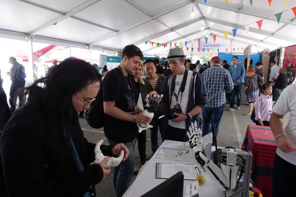 BioGrip 3.1 - Maker Faire New York - 2
