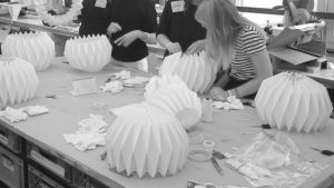 Make your own Origami Lampshade @ Zenith Halle - Workshop Area 42