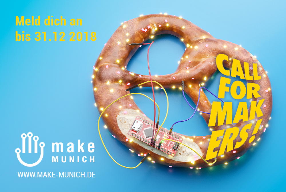Call for Makers ist gestartet