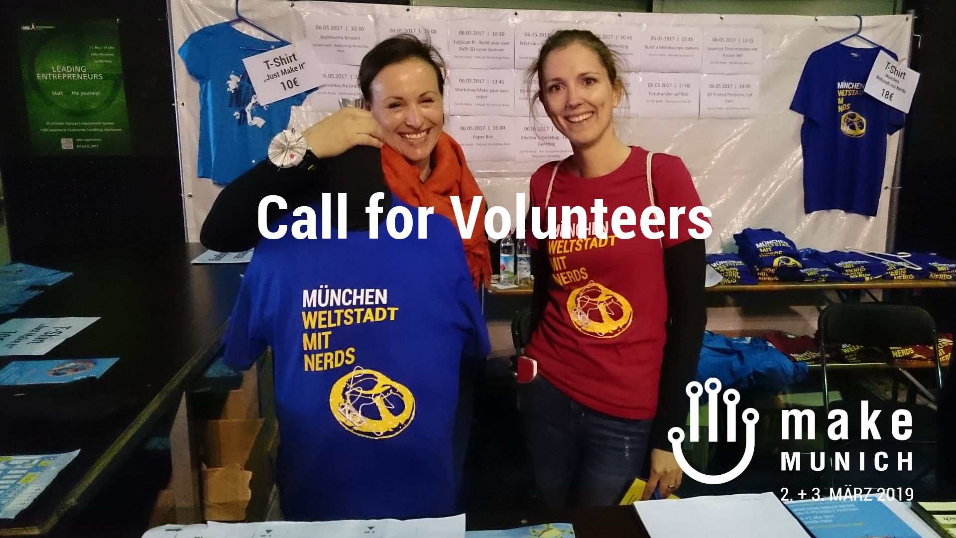 Werde Make Munich Volunteer